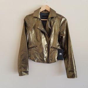 🆕️ Rock & Republic Liquid Gold Denim Jacket